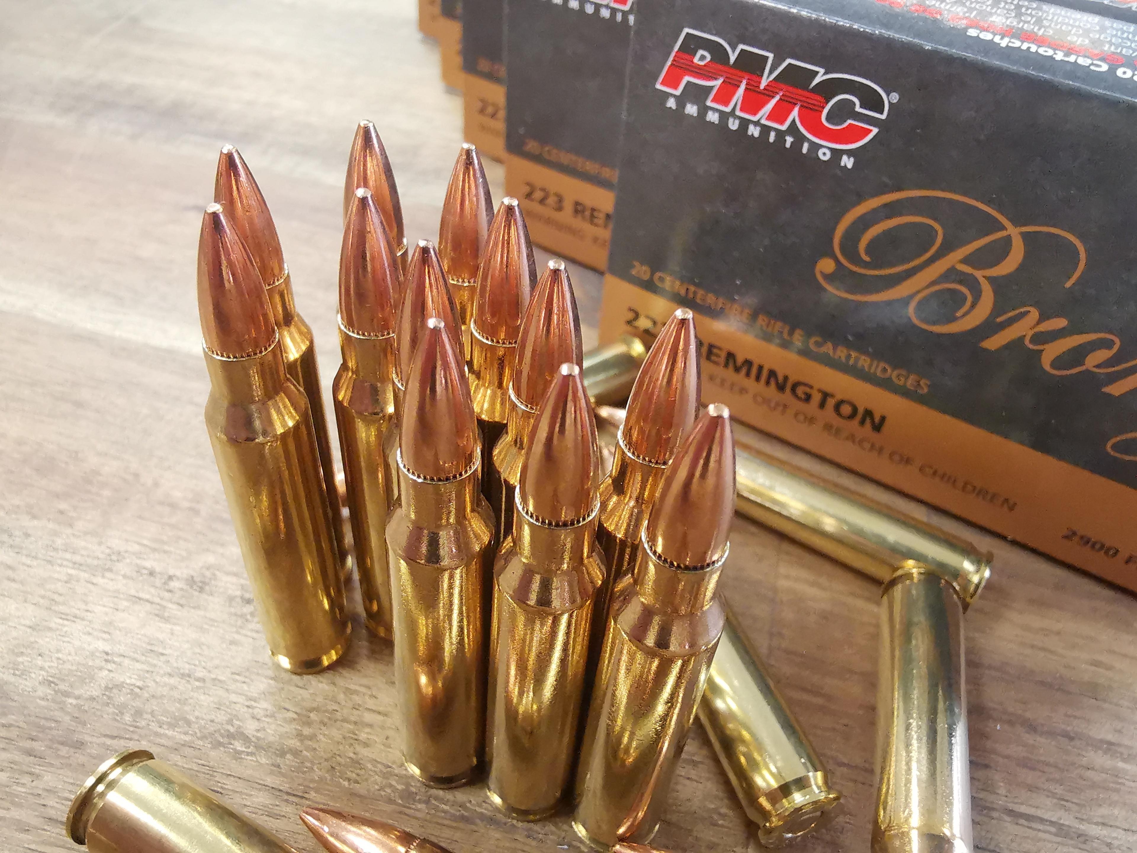 PMC Bronze Line .223 Rem FMJ - 55grs