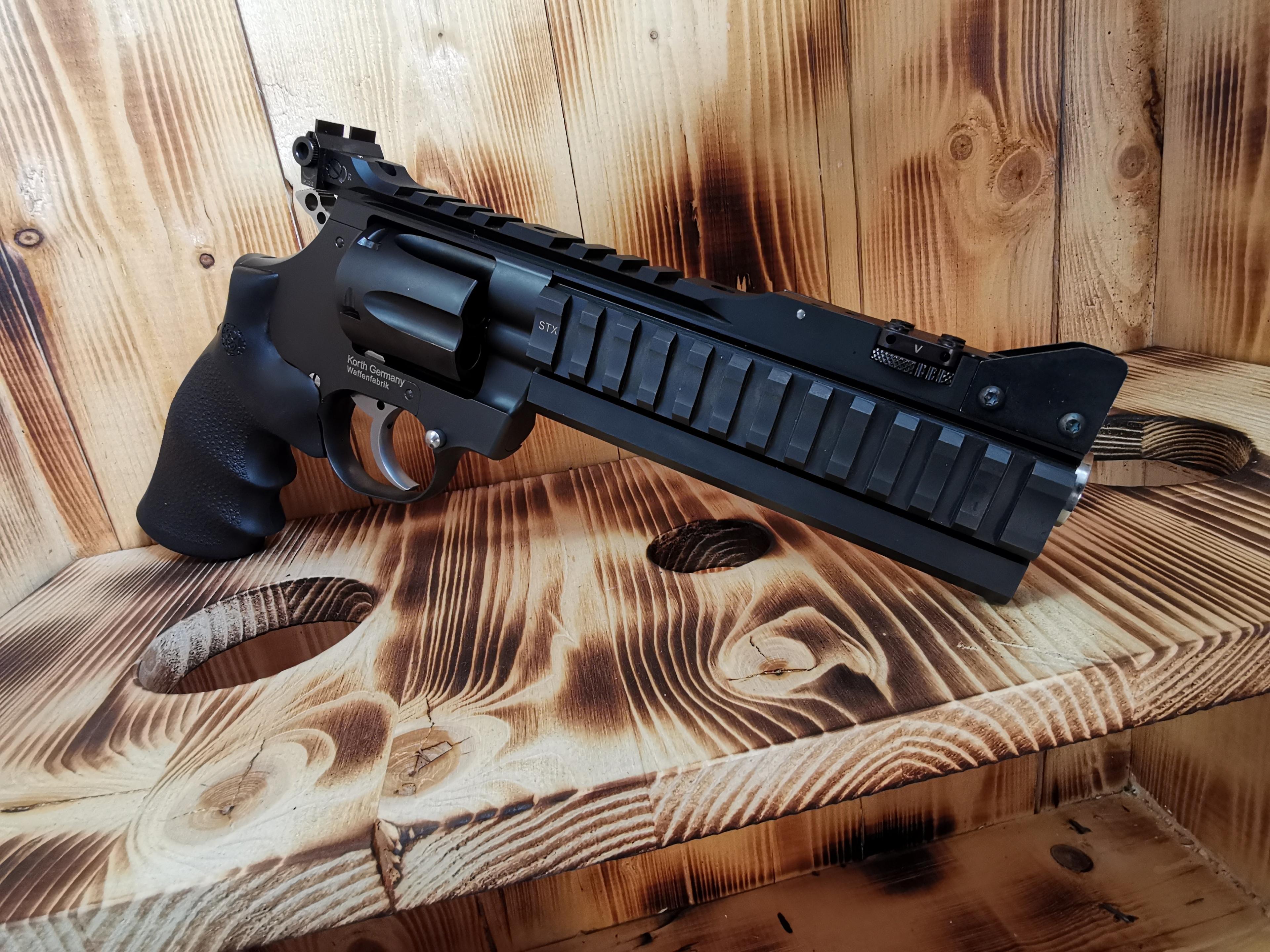 Korth Super Sport STX .357 Magnum - NEUWERTIG !!