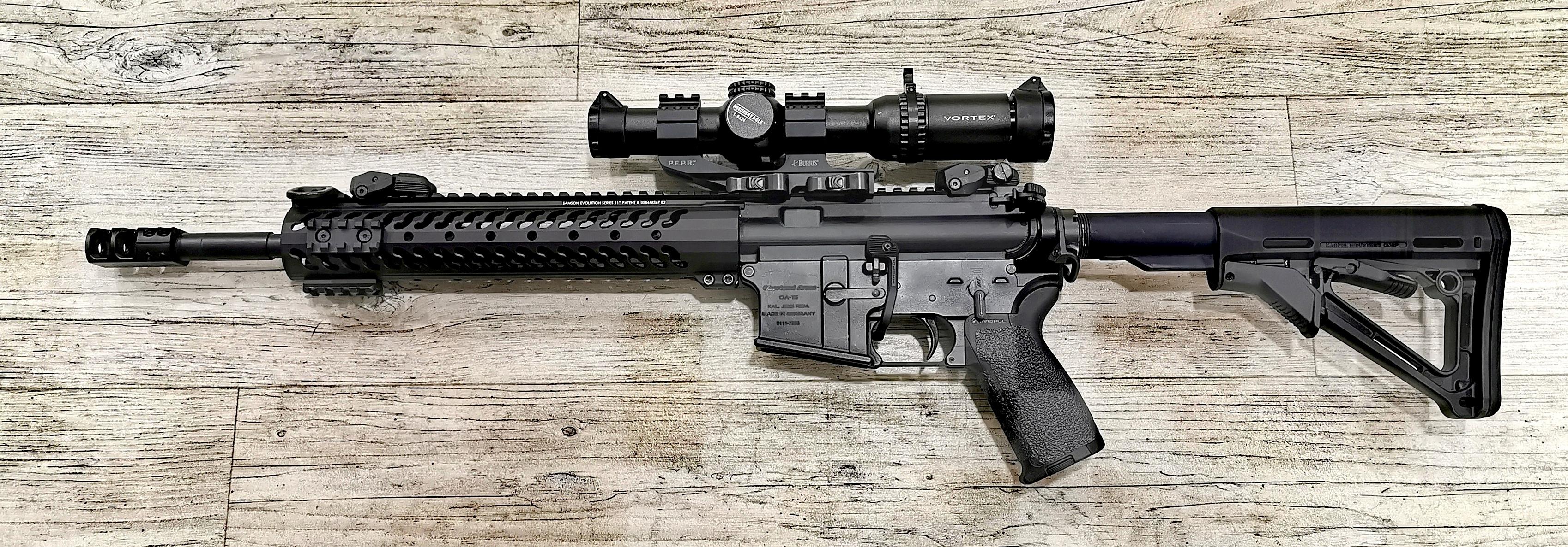 Oberland Arms OA 15 cal. 223Rem. inkl.Vortex Strike Eagle 1-6x24