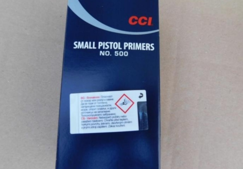 CCI Small Pistol Zündhütchen 10.000Stk