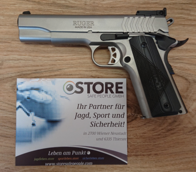Ruger Sr1911 Stainless9