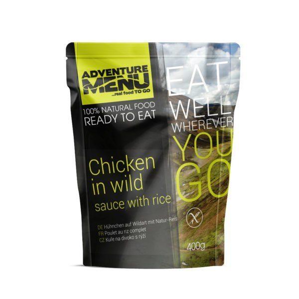 3 D Chicken in wild sauce 600x600