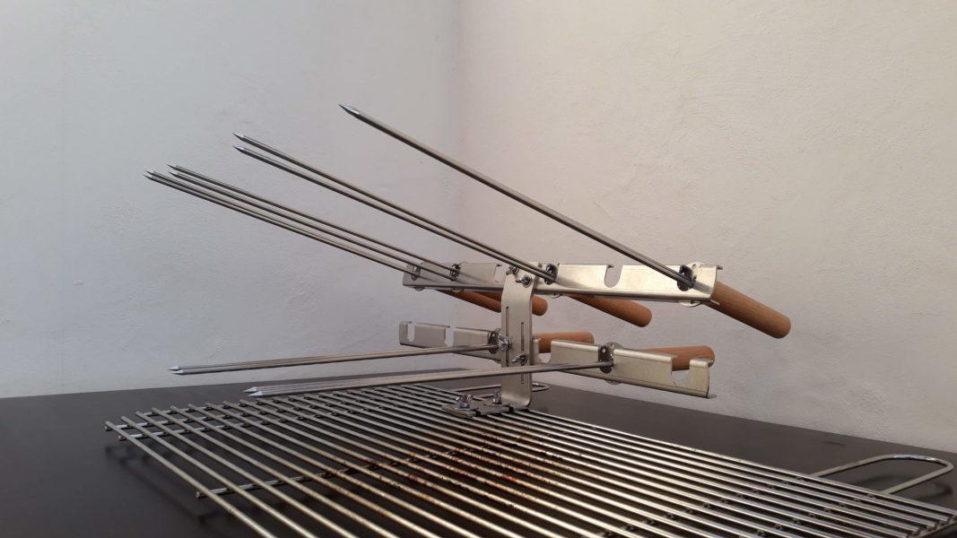 Grill Gilley Steckerlfischsystem 6fach 3