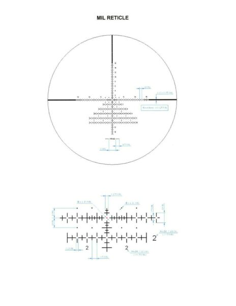 IOR 9 36x56 IL FFP MIL reticle