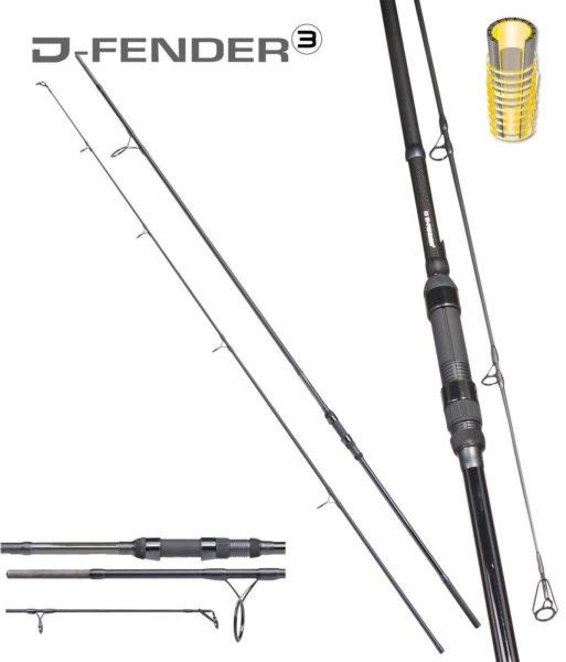 MAD-D-Fender-III-UK-360m-325lbs-2-tlg-Karpfenrute