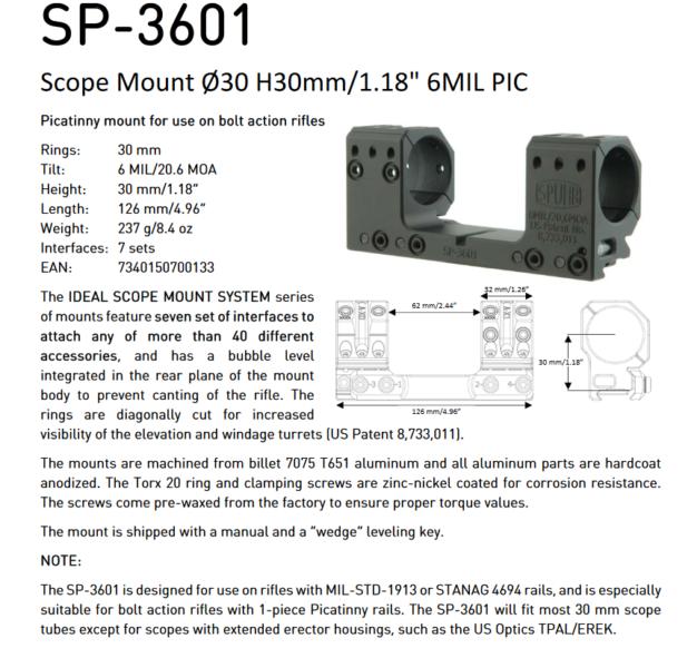 SP 3601