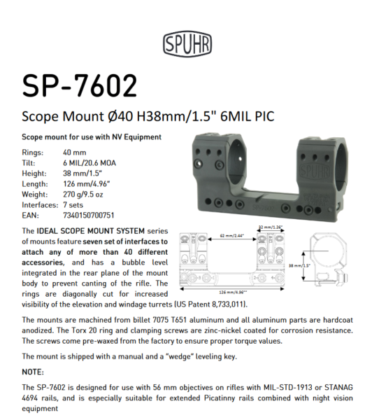 SP 7602