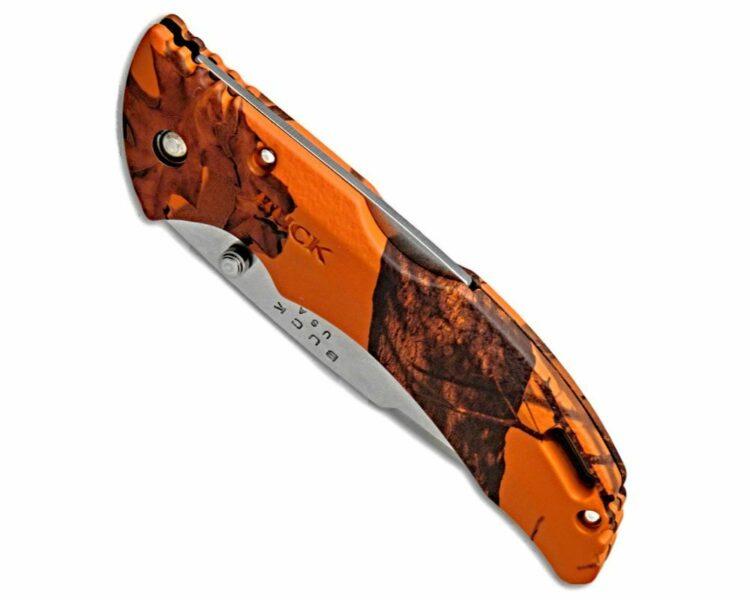 Buck bantam mossy oak blaze orange camo 1