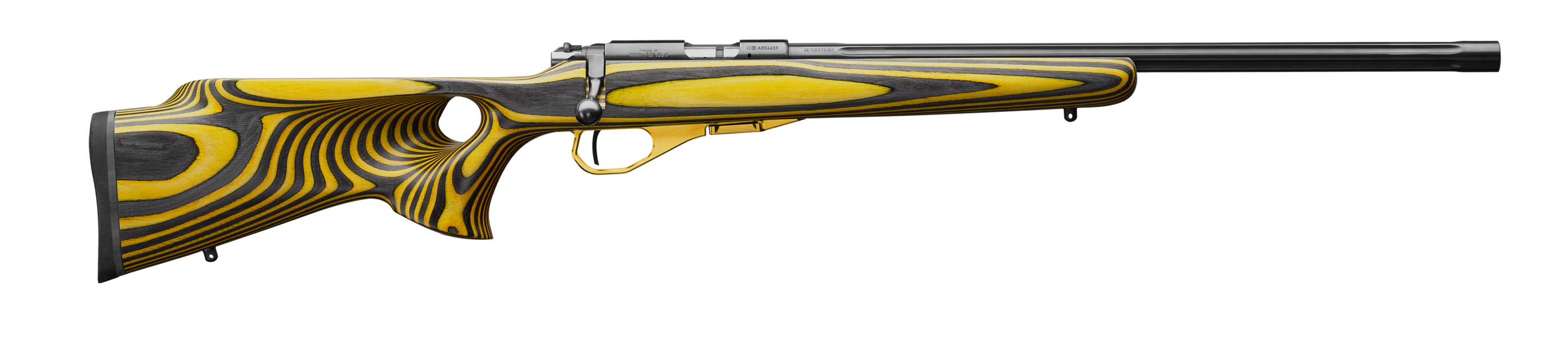 Cz 455 thumbhole yellow right