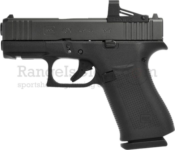 Glock 43x mos combo shield pistole Copy