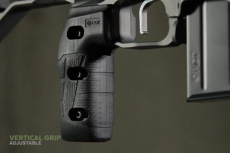 Mdt vertical adjustable grip for precision shooting 1