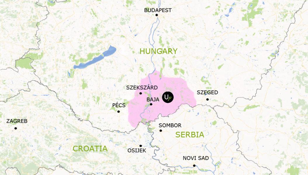 Ungarn jagen angeln reiten karte close