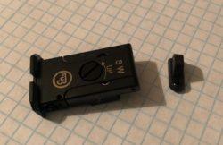 Verstellbare Kimme/Korn Visierung CZ 75 SP01 Shadow / Shadow 2