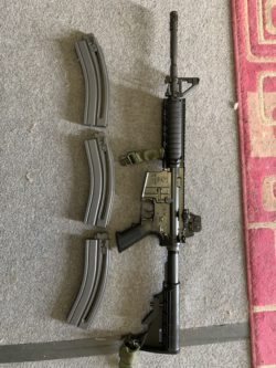 Colt M4. 22lr