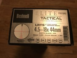 Bushnell Elite Tactical 4,5-18x44 Zielfernrohr Illuminitated G3