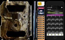 GSM-fähige Deermapper Wildkamera - Komplettpaket