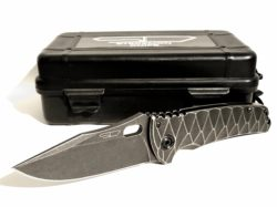 Stedemon Knives DSM 2014 (Deep Sea Monster, Titanium Framelock Taschenmesser)
