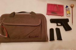 Glock 19 Gen. 3 inkl Tasche uvm