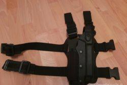 VEGA taktischer Oberschenkelholster VKLZ804 für Glock mit/ohne Licht/Laser