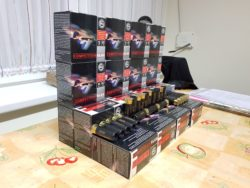 FLINTENLAUFGESCHOSSE/ SLUGS. 500 STÜCK RWS/Geco/Rottweil Competition Slug Kal. 12 67,5mm 28,5g. Fotos. Festpreis. Stück 0,60.