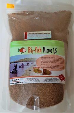 LIKRA Big -fish Micros 1,5mm - 1,0kg