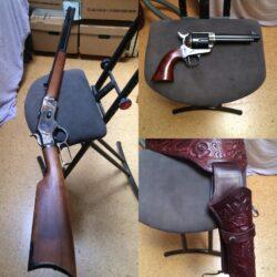 Western Waffenset, Unterhebelrepetierbüchse 1873 & SA Revolver 1873