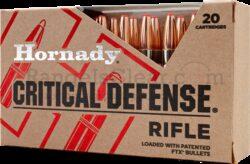 Hornady Critical Defense .308 Win 155 grs FTX