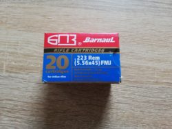 238 Schuss .223 Remington Barnaul Stahlhülse