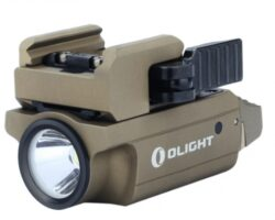 BLACK FRIDAY SALE  € 99,-   Olight BALDR Mini Desert - Licht/Laser grün