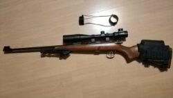 CZ 452-2E ZKM .22lr KK Gewehr mit 4-16x40 Zielfernrohr, Bubble Level, Wangenauflage, Zweibein, Triggertuning