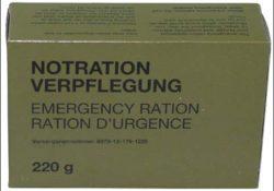 BW NOTRATION-VERPFLEGUNG, 1 PACKUNG 220 G