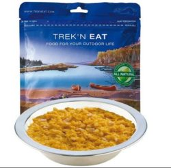 "TREK 'N EAT, ""HUHN MIT CURRYREIS"""