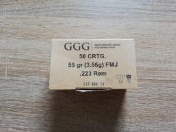 89 Schuss .223 Remington GGG