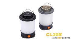 Fenix CL30R Camping Laterne black  650 Lumen