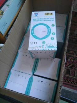SANBANG Schutzmaske FFP2 (Verpackungseinheit 10 Stück) gegen Viren