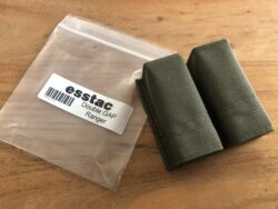 Magazintasche - esstac KYWI Double Pistol GAP - Olive / Ranger green