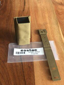 Magazintasche: esstac KYWI Single Pistol – Coyote Brown
