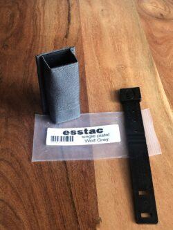 Magazintasche: esstac KYWI Single Pistol – Wolf Grey