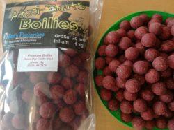 Atzi Baits Boilies, Chilli / Fisch, 20mm, 1kg