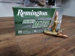 Remington Premier Match .308 Win. - 168 grain BTHP