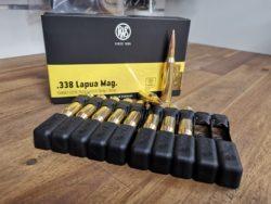 RWS Target Elite Plus - .338 Lapua Magnum 300 grain BTHP