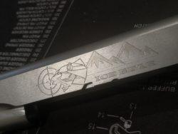 Lasergravur & Laserstippling von Waffen & Waffenteilen