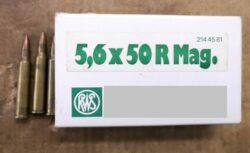 5,6x50 R Mag Patronen
