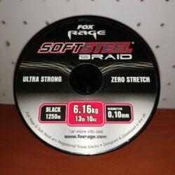 FOX Rage SoftSteel 0,10mm/6,16kg, 1250m, Schwarz