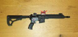 Luvo Arms LA15 9mm mit Velocity Trigger und VG6 gamma Mündungsbremse PCC