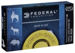 Federal .308 Win. Soft Point