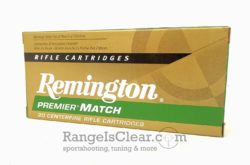 Remington Premier Match .223 BTHP 52grs
