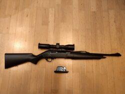 Winchester SXR Tracker Fluted - Kugelhalbautomat .308 - schwarzer Kunststoffschaft - Lauflänge 47cm
