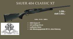 Sauer 404 Classic XT Sonderangebot !