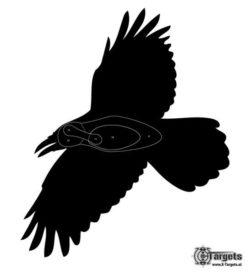 Zielscheibe Krähe (5 Stk.)